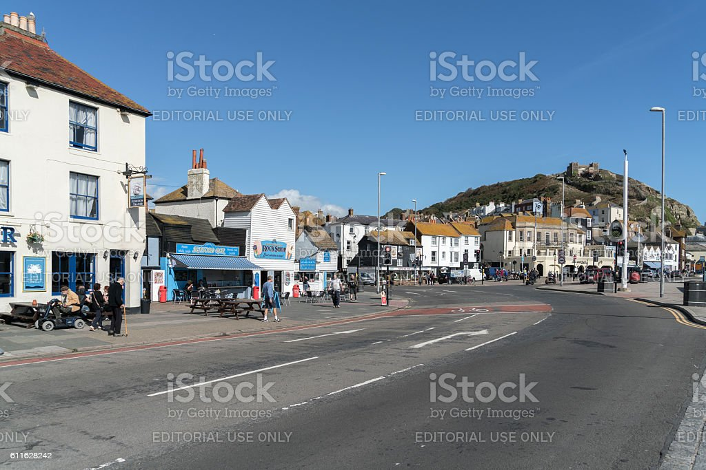 Hastings, East Sussex, UK stock photo