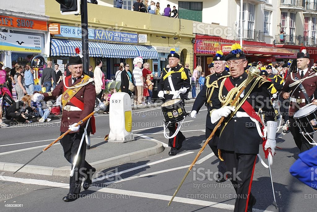 Hastings Old Town Carnival royalty-free stock photo