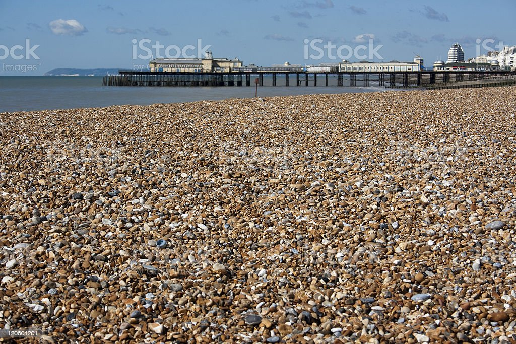 Hastings Pier, East Sussex royalty-free stock photo