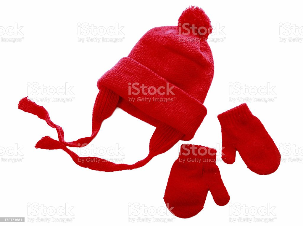 Hat & Mittens stock photo