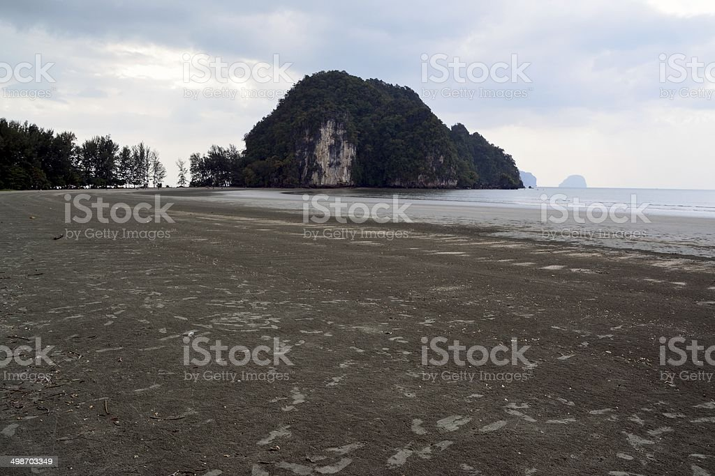 Hat Chao Mai Beach in Trang Province Thailand stock photo