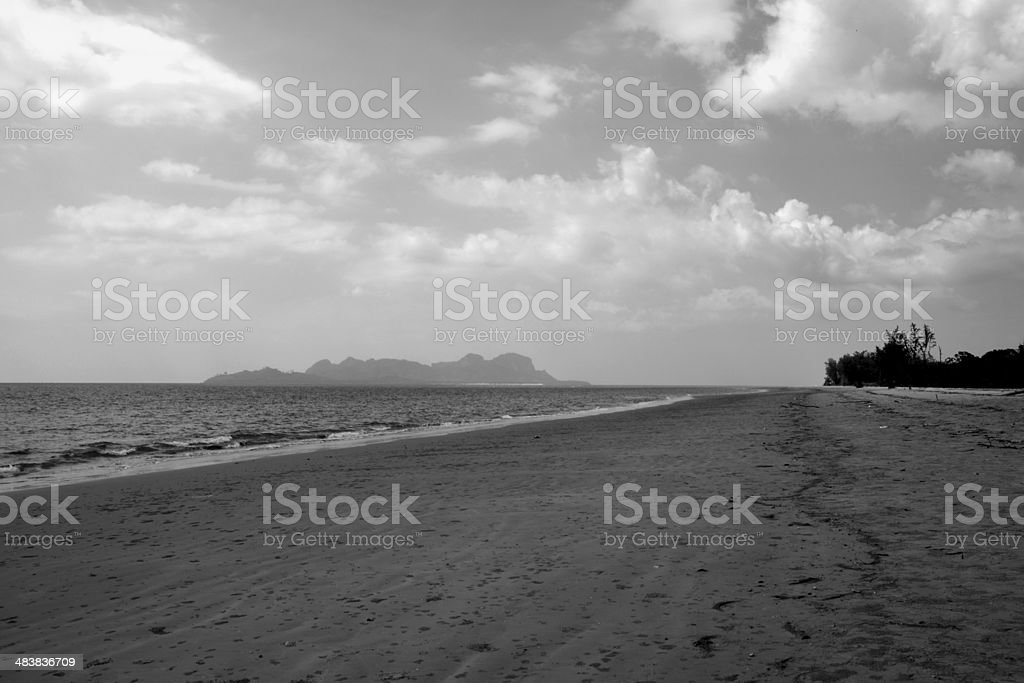 Hat Chao Mai Beach, Trang Province - Thailand stock photo