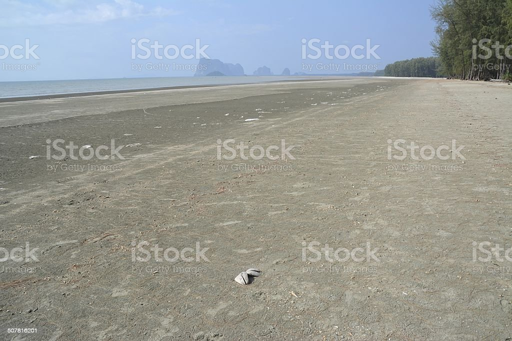 Hat Chao Mai National Park, low tide - Trang province stock photo