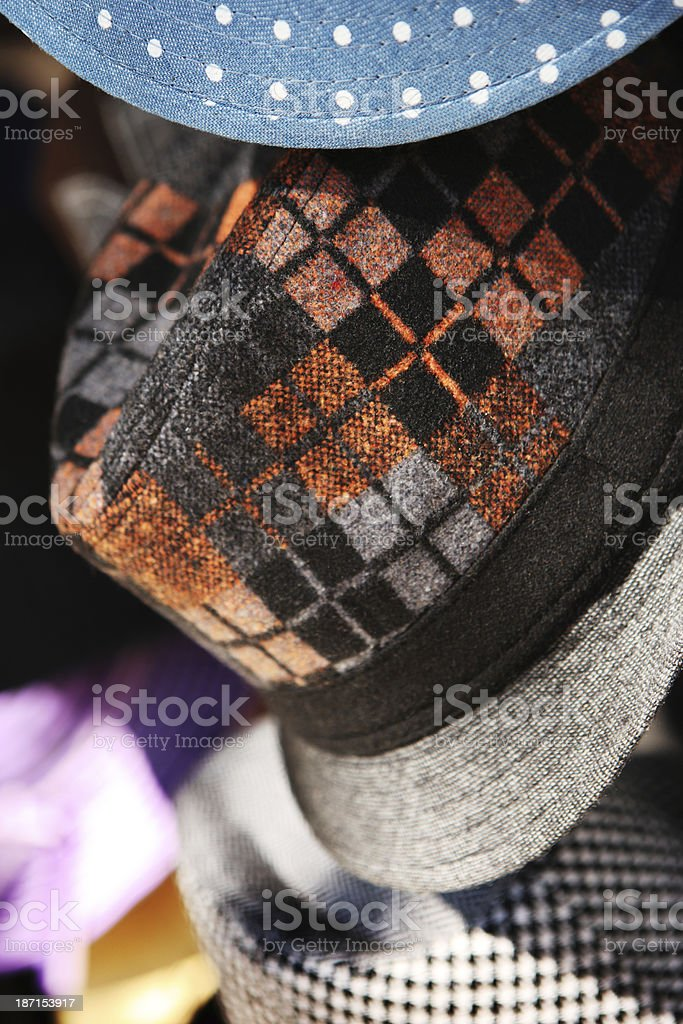 Hat Fashion Headwear Retail Display royalty-free stock photo