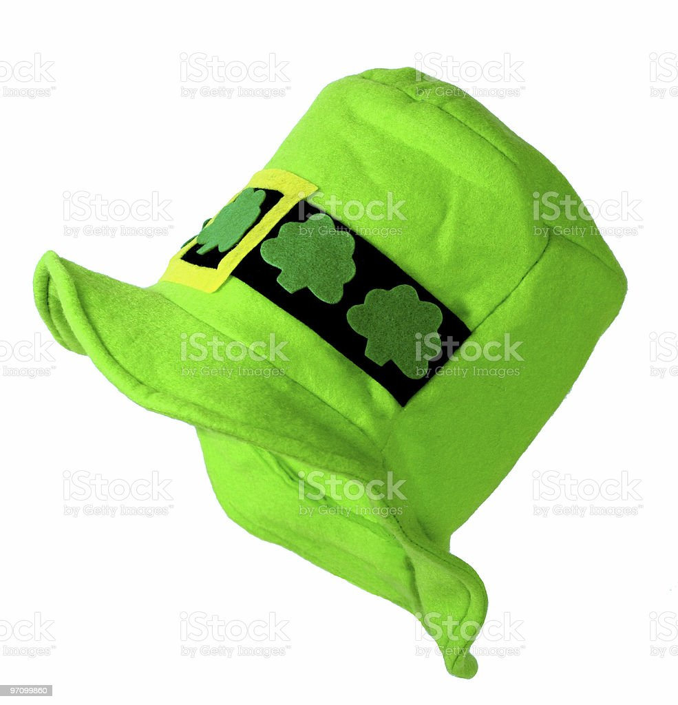 Hat for St. Patrick's Day 2 royalty-free stock photo