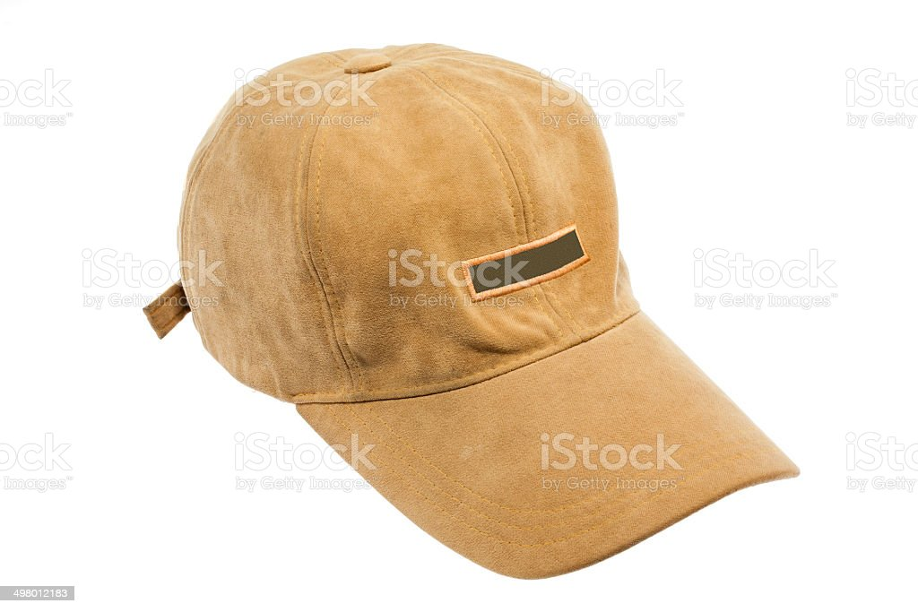 Hat Isolated on White Background. stock photo