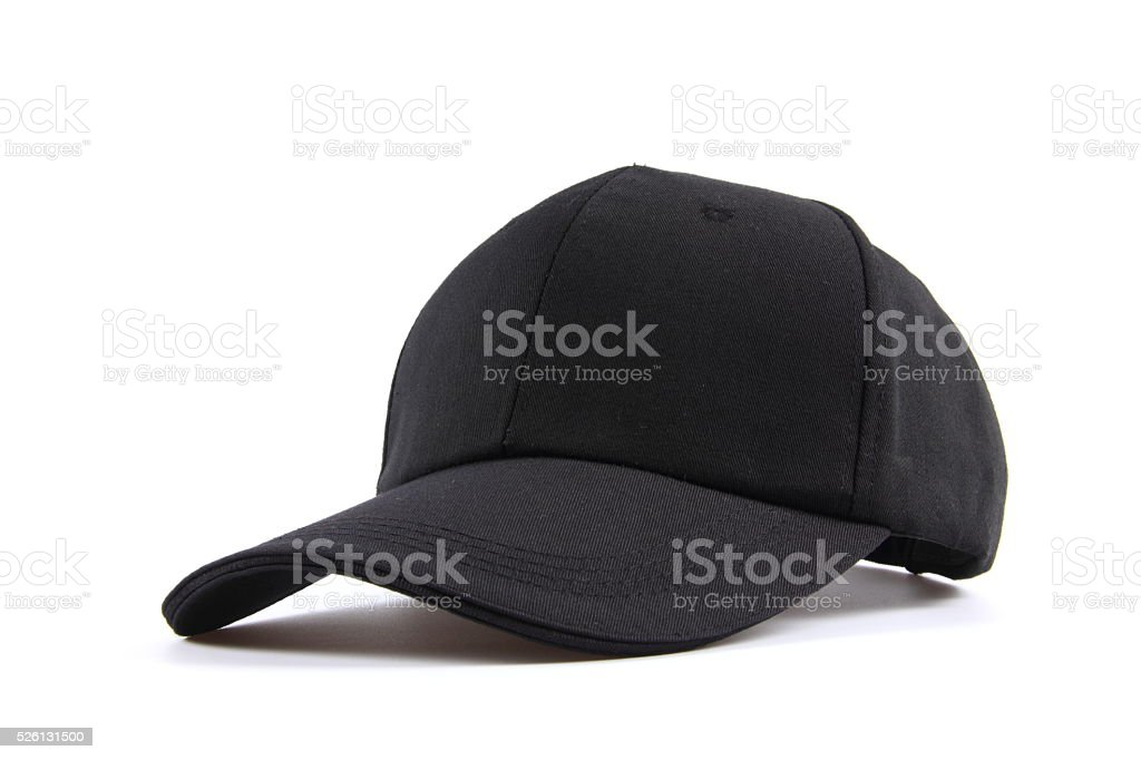 Hat on white background stock photo