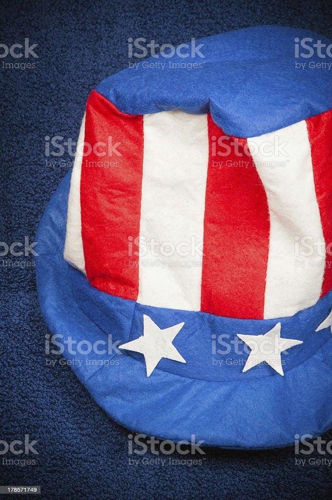 USA Hat royalty-free stock photo