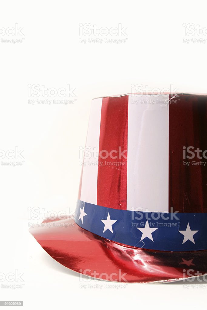 USA Hat royalty-free stock photo