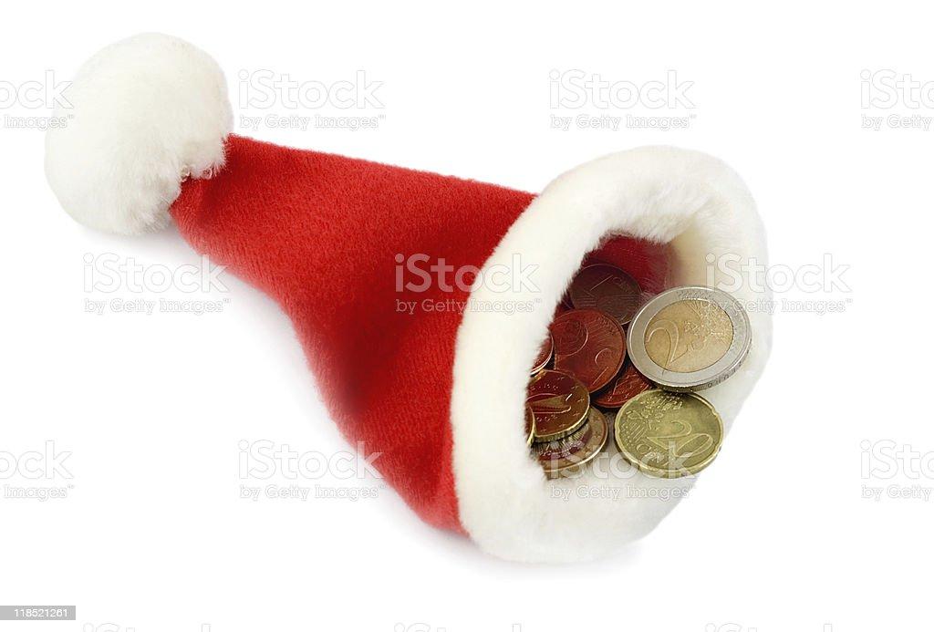 hat santa royalty-free stock photo