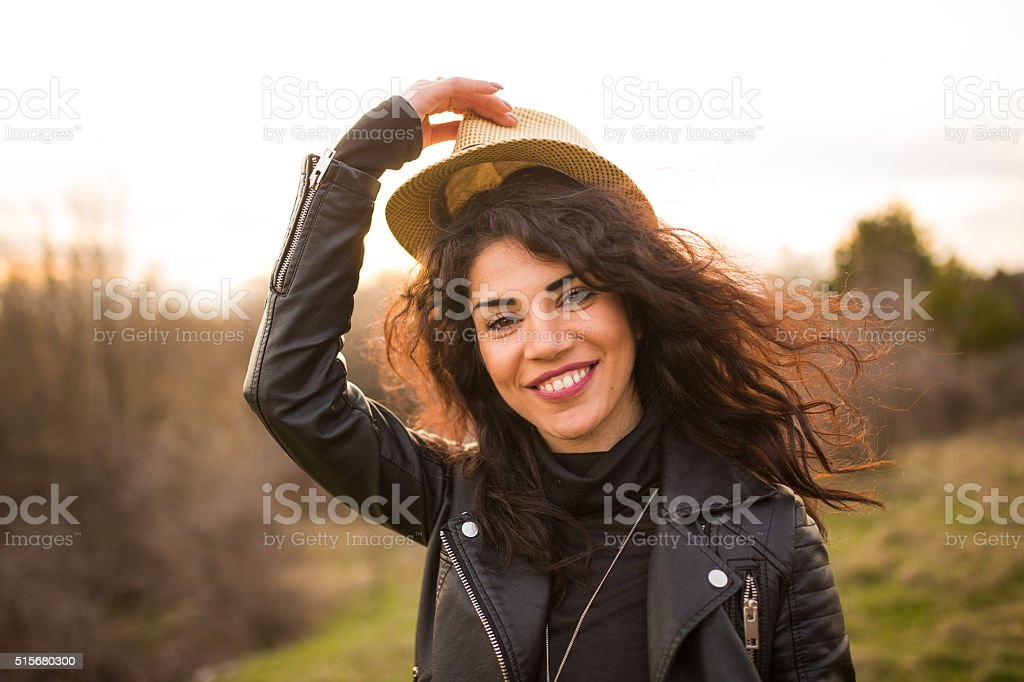 Hat tip stock photo