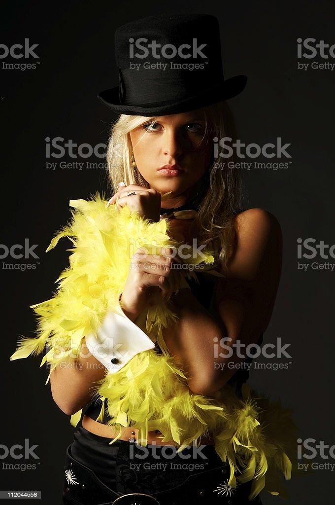 Hat women royalty-free stock photo