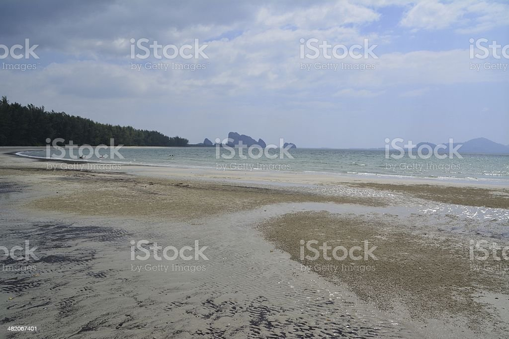 Hat Yong Ling beach, Trang coast - Thailand stock photo