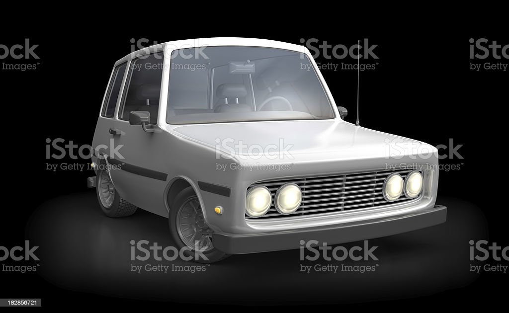 hatchback royalty-free stock photo