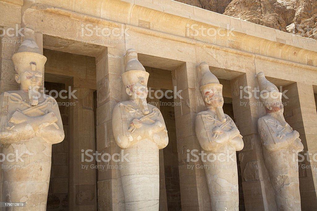 Hatchepsut temple in Luxor, Egypt stock photo