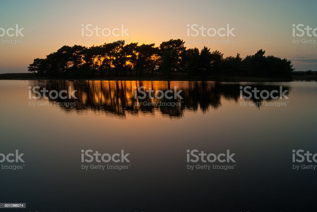Hatchett Pond stock photo