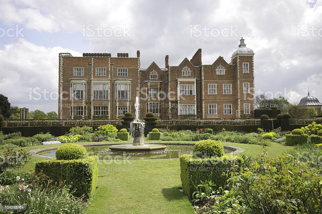 Hatfield House, Hertfordshire, UK stock photo