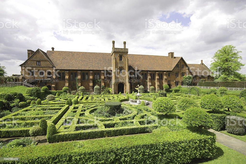 Hatfield Old Palace, Hertfordshire, UK stock photo