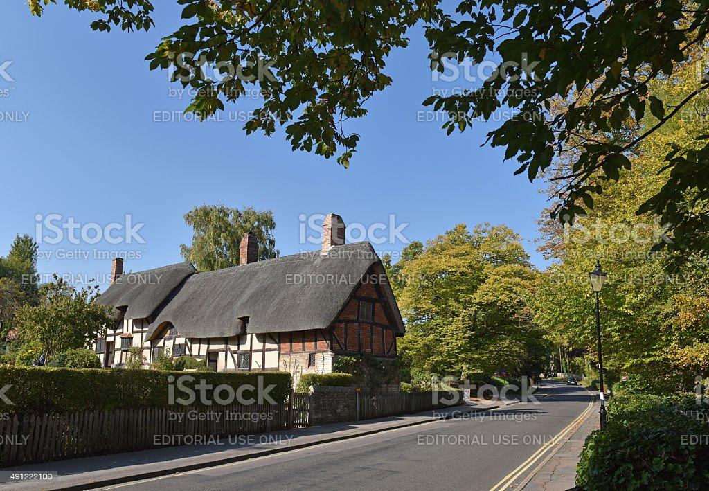 Hathaway's Cottage stock photo