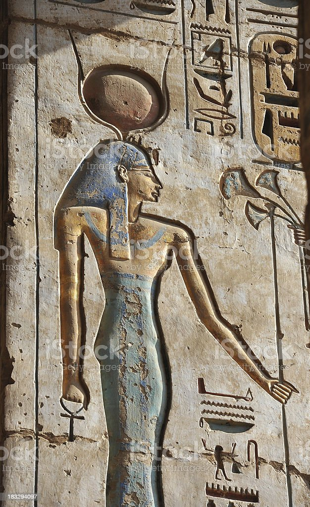 Hathor royalty-free stock photo