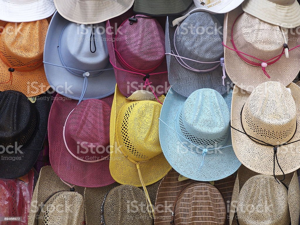 Hats Background royalty-free stock photo