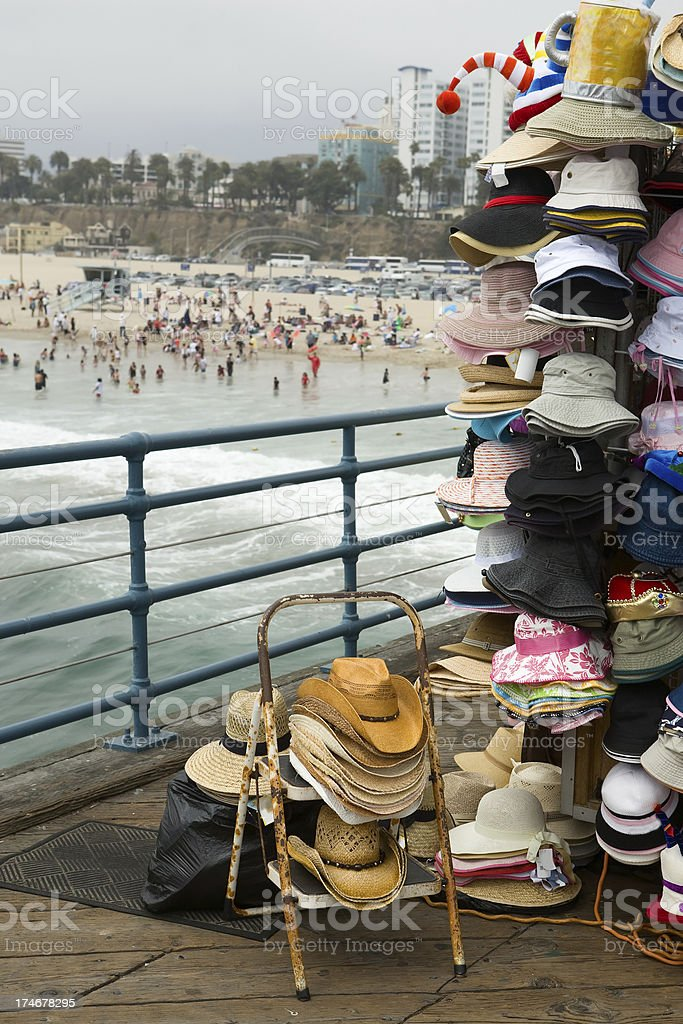 Hats for Sale royalty-free stock photo