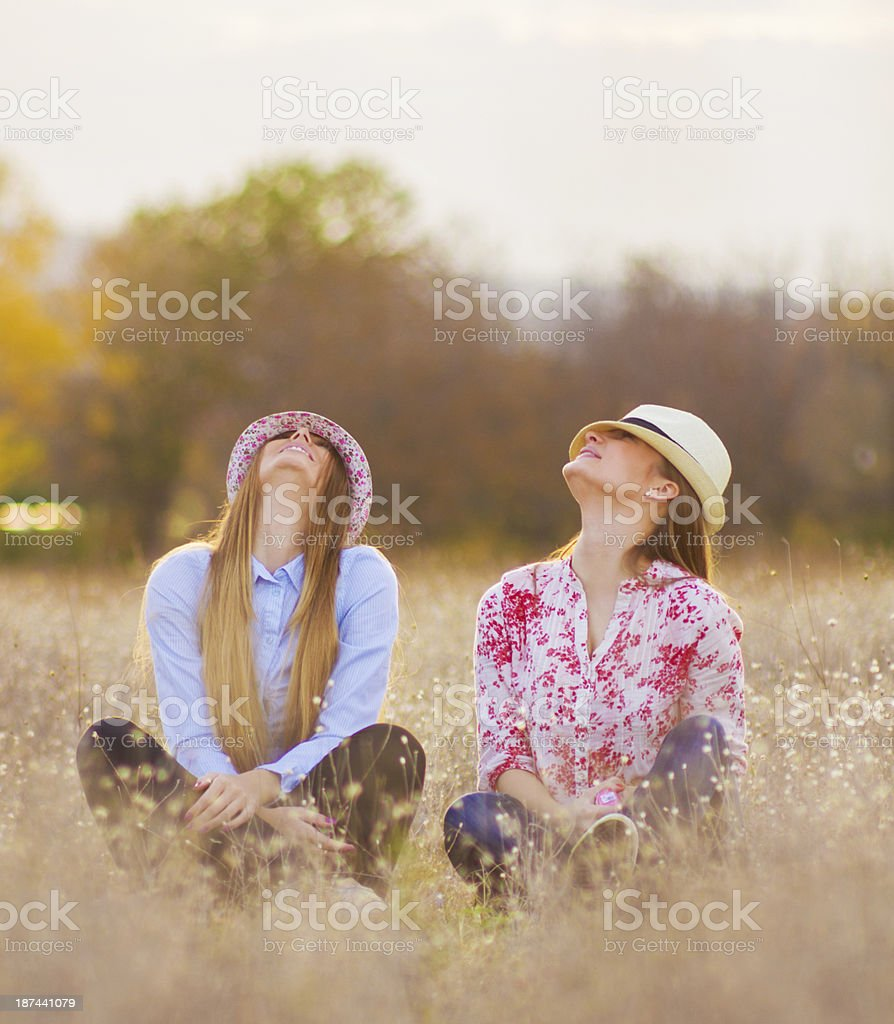 Hats on royalty-free stock photo