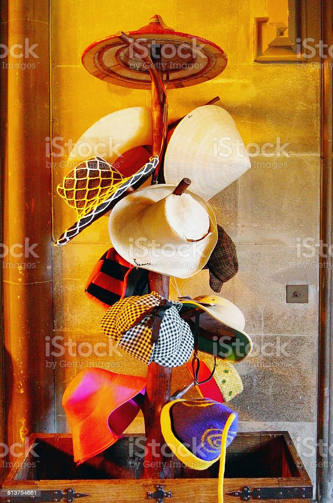 hats stock photo
