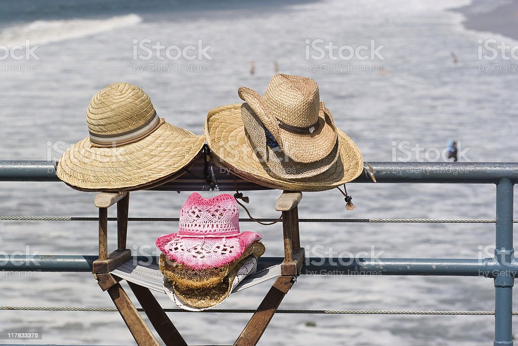 Hat's shop royalty-free stock photo