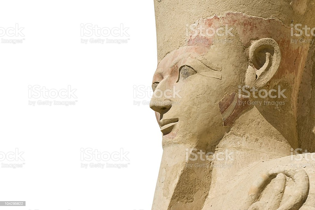 Hatshepsut isolated royalty-free stock photo