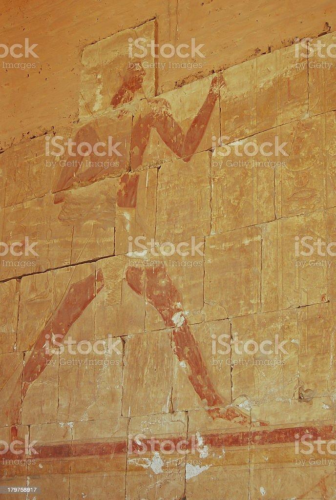 Hatshepsut temple, Egypt royalty-free stock photo