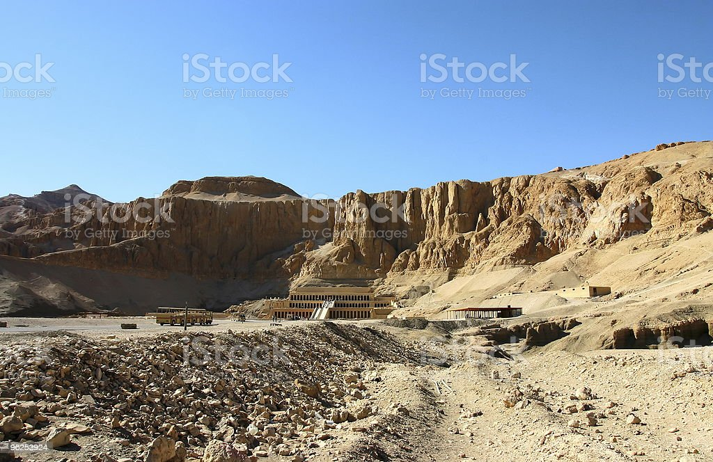 Hatshepsut temple. Egypt stock photo