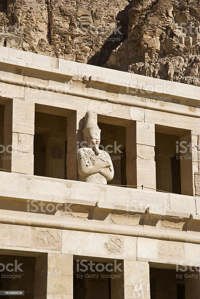 Hatshepsut temple in Luxor (Thebes) stock photo