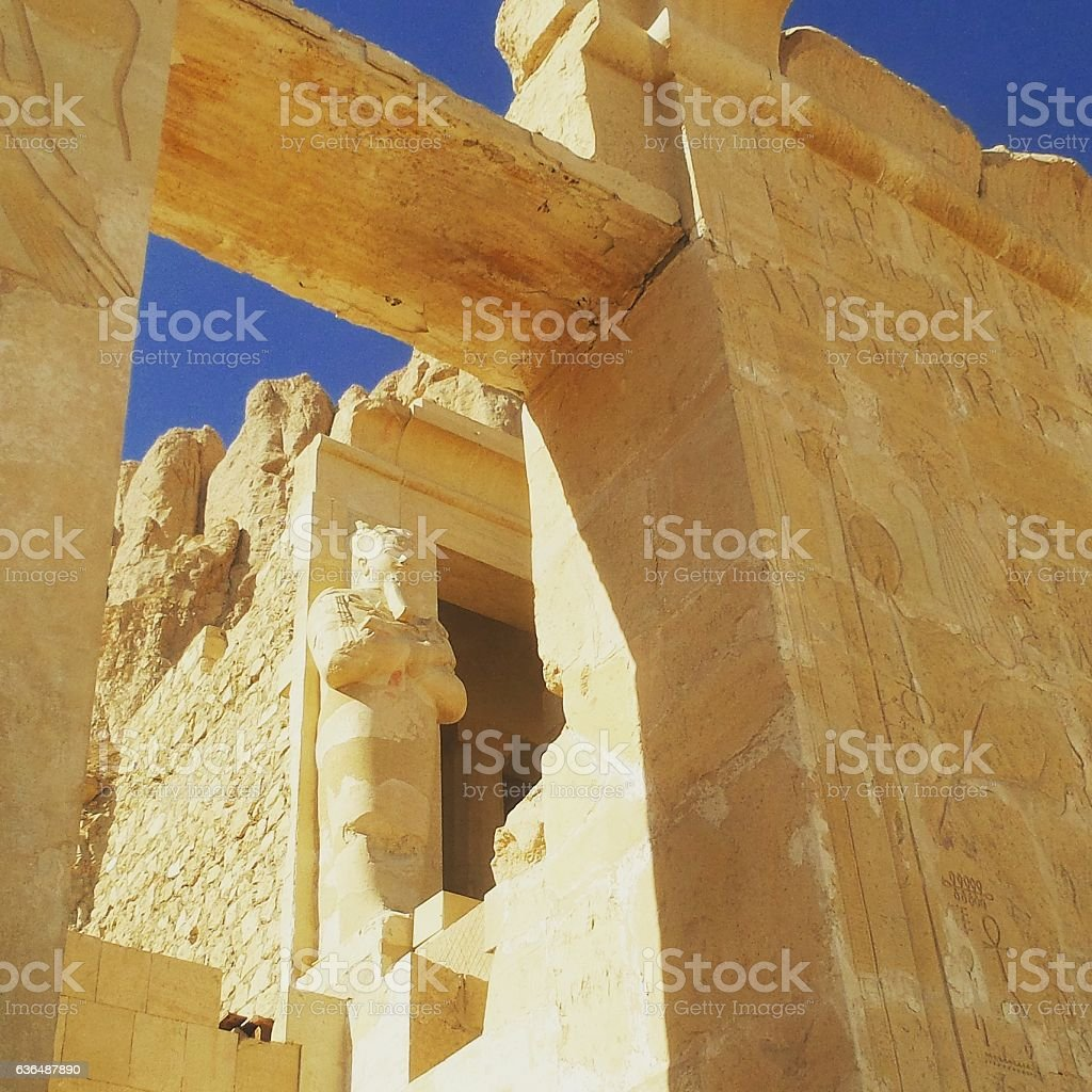 Hatshepsut temple. Luxor, Egypt. stock photo