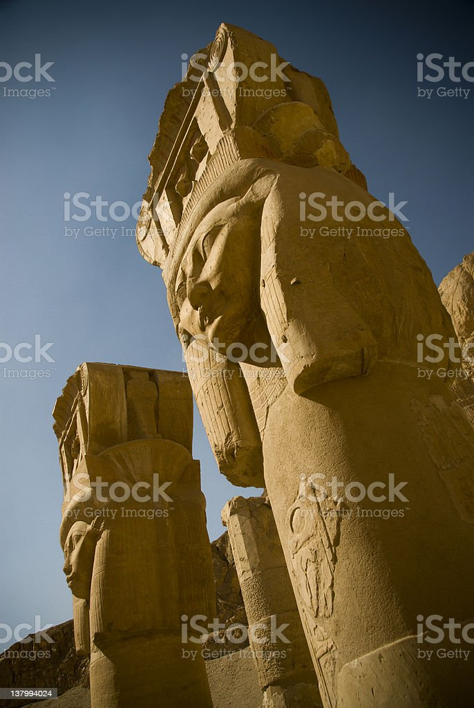 Hatshepsut Temple royalty-free stock photo