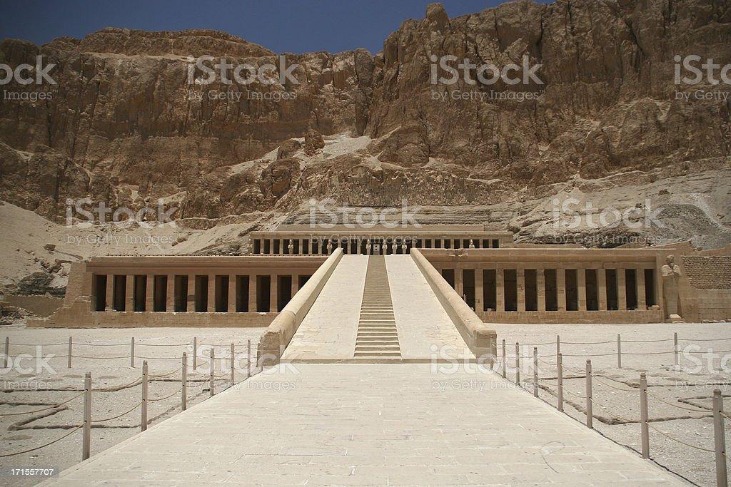 Hatshepsut temple royalty-free stock photo