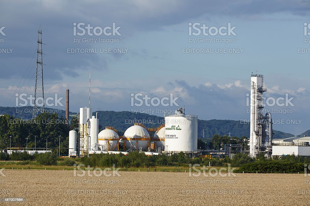 Hattingen (Northrhine-Westphalia, Germany) - Air Products stock photo