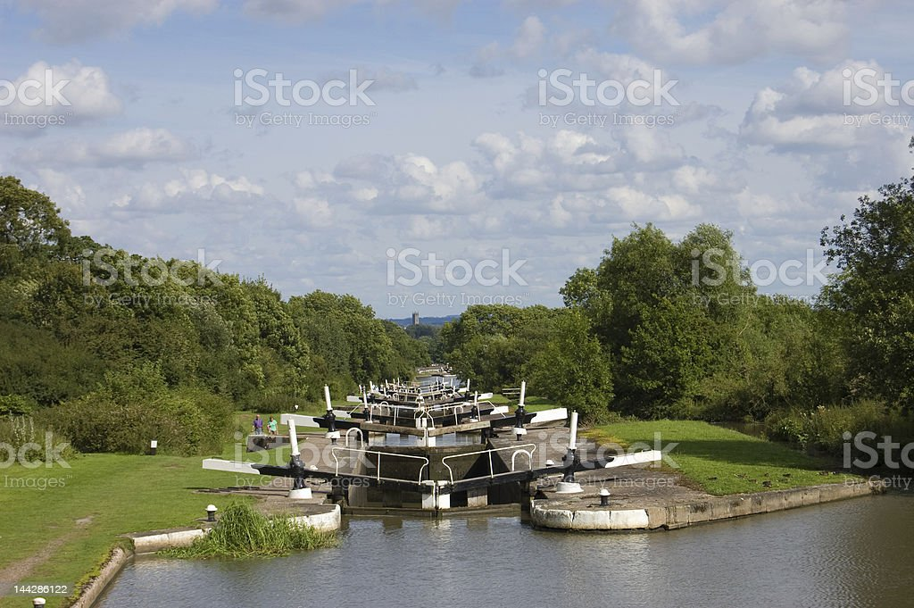 Hatton Locks stock photo