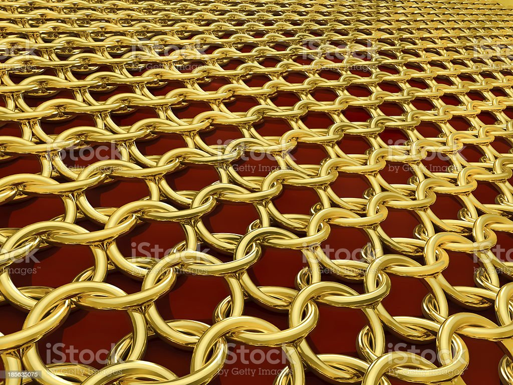 hauberk stock photo