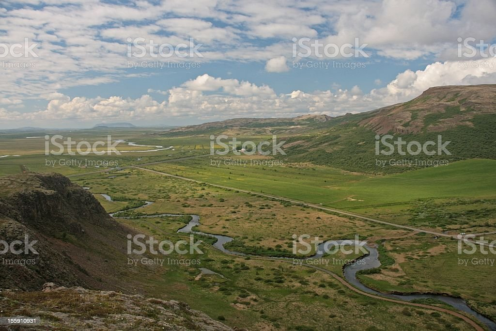 Haukadalur - Island royalty-free stock photo