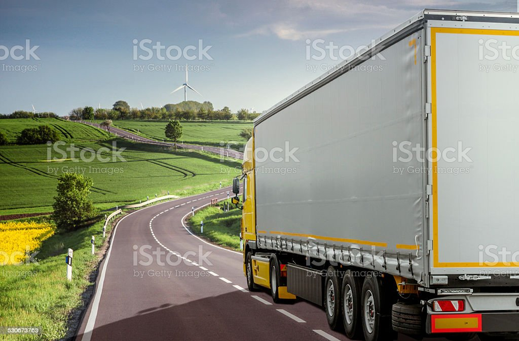 Haulage - Trucking stock photo