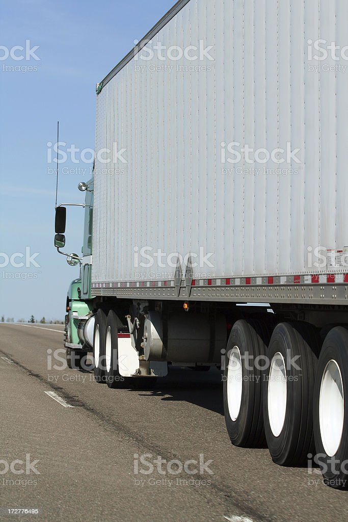 Hauling Freight royalty-free stock photo