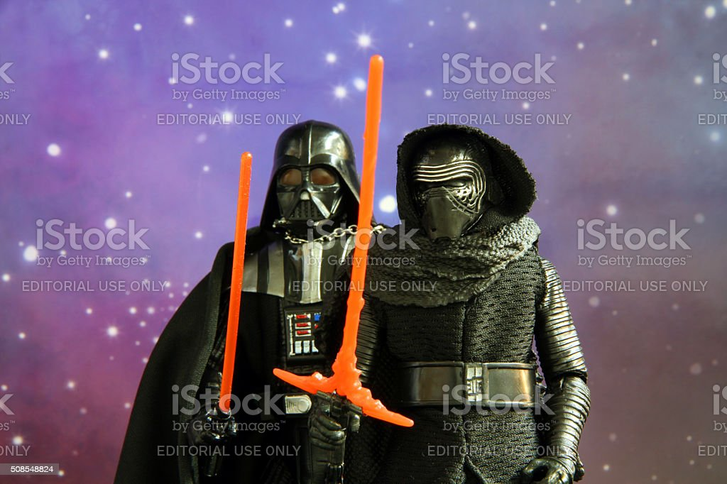Haunted by the Sith stock photo