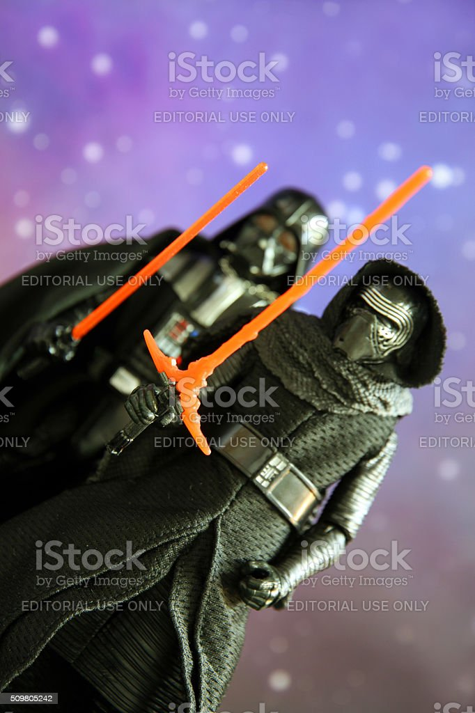Haunted by Vader stock photo
