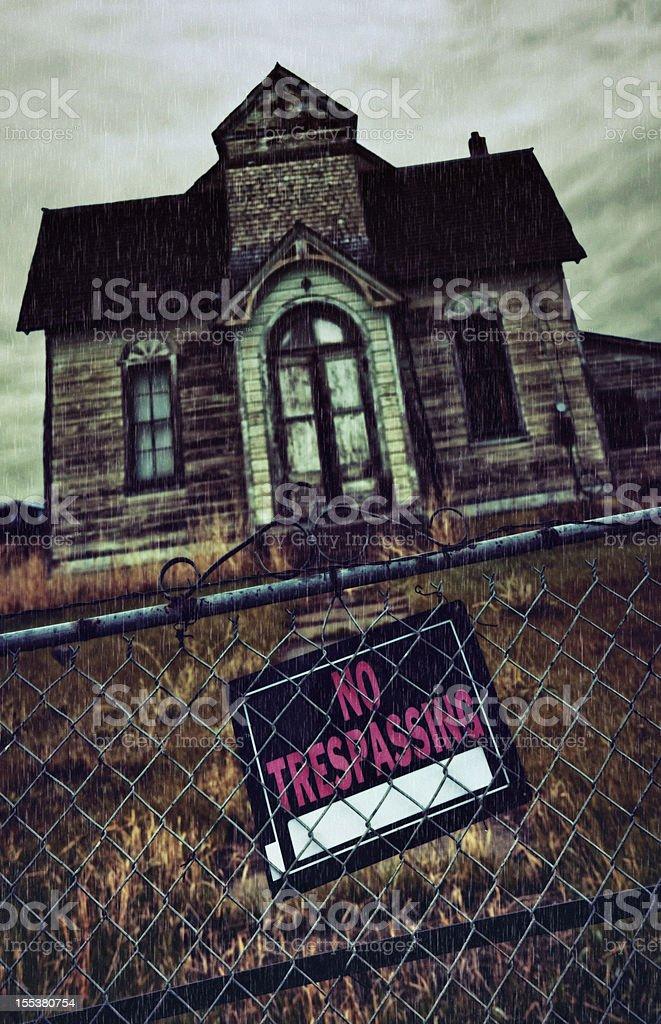 Haunted House royalty-free stock photo