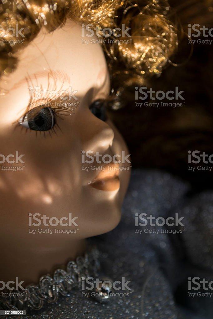 Haunting Doll stock photo