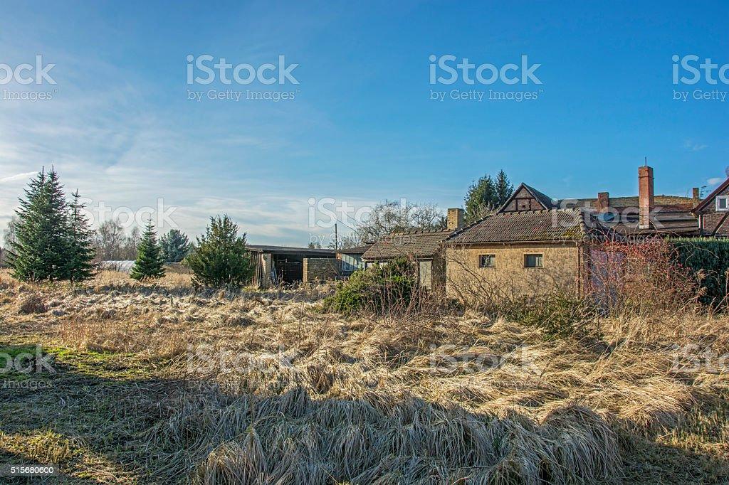 Haus in Wittenberg stock photo