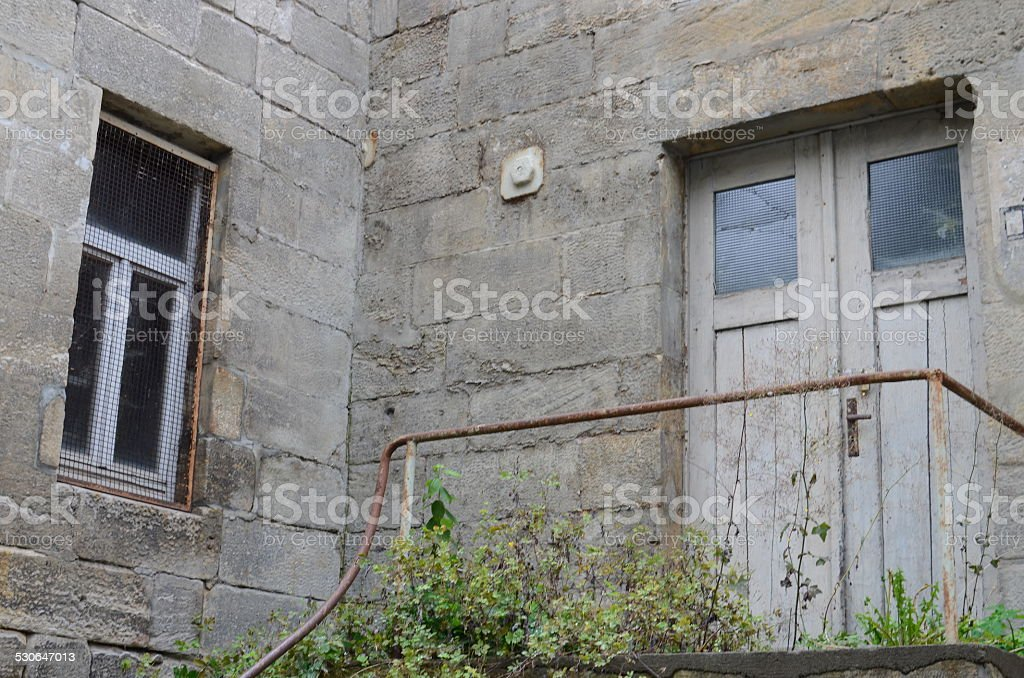 Haustür stock photo