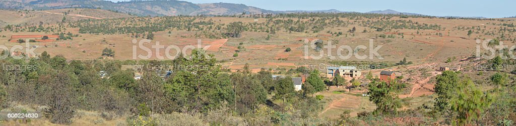 Hautes Terres Malagasy stock photo