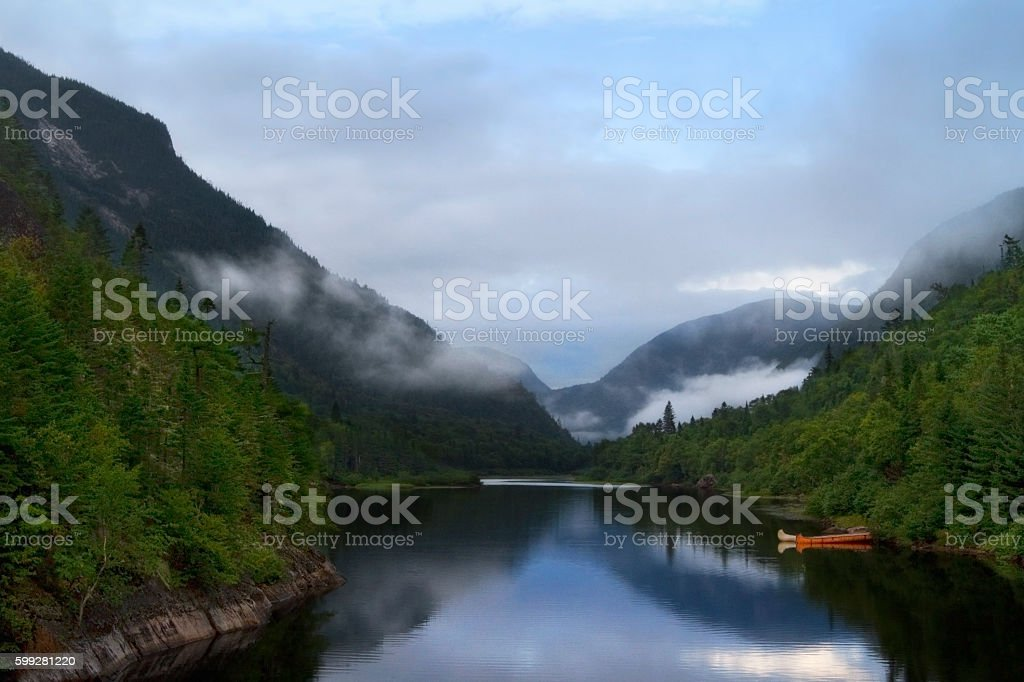 Hautes-Gorges stock photo